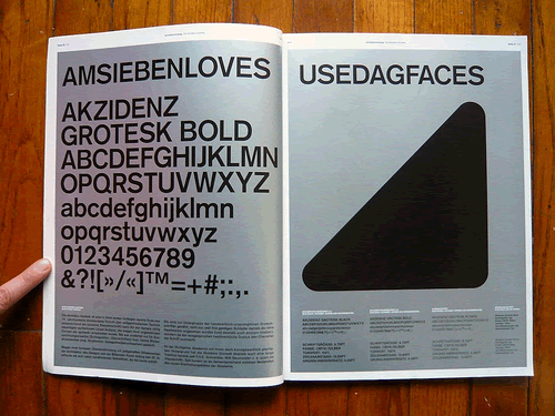 Magazine Layout and Typography Inspiration