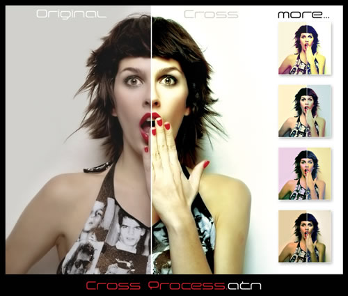 Acciones de Photoshop - 16 Actions add Style