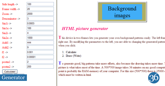 Background Generator