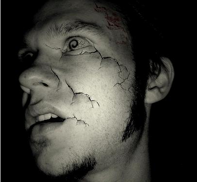 Creepy Self Portrait