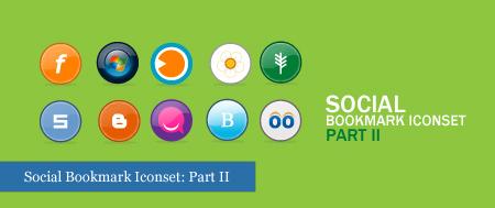 30 Amazing Social Bookmark Icon Sets