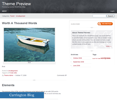 30 temi gratis, compatibili con WordPress 2.7 , wordpress  , wp27theme27