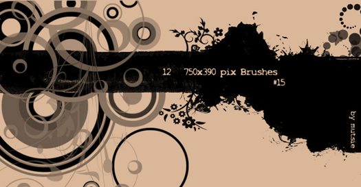 Retro Photoshop Brush Sets