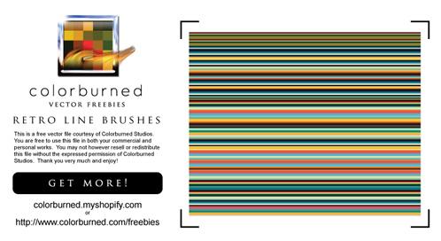 Retro Photoshop Brush Sets