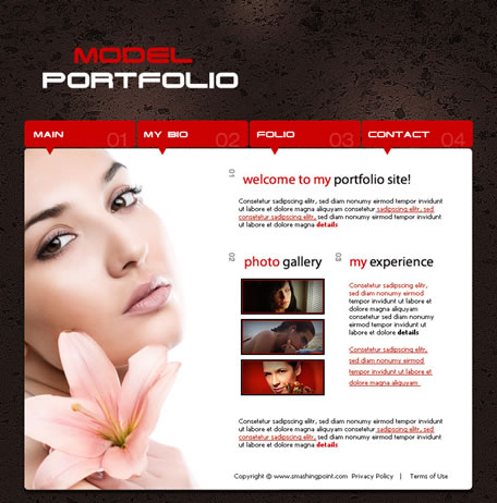 Create a Web Mockup in Photoshop