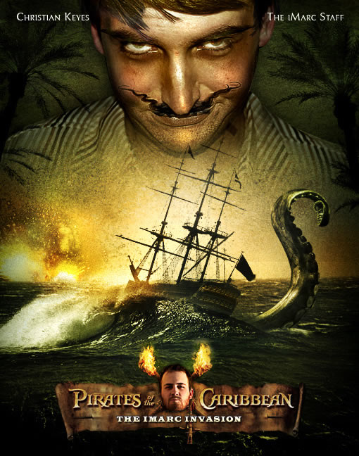 Photoshop Movie Tutorial  Pirates of the Caribbean Poster
