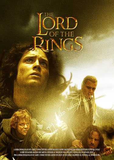 Photoshop Movie Tutorial Lord Of The Rings Poster