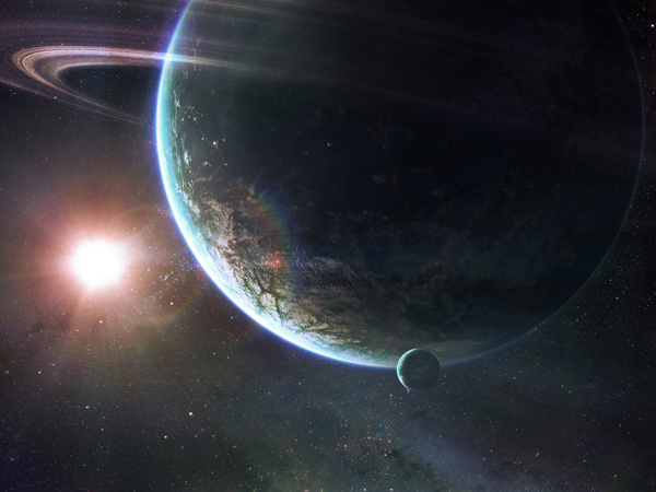 20 Incredible Digital Sunrise Wallpapers Viewed From Space