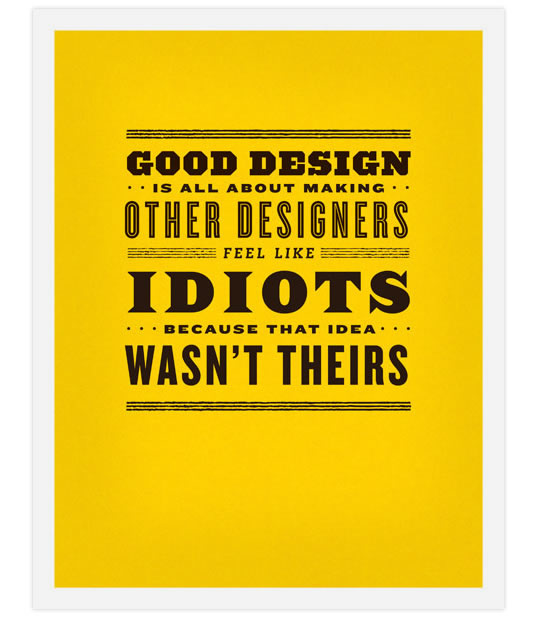 Inspirational Design Posters from Frank Chimero