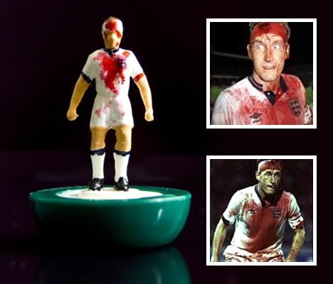 Infamous Moments in Football with Subbuteo
