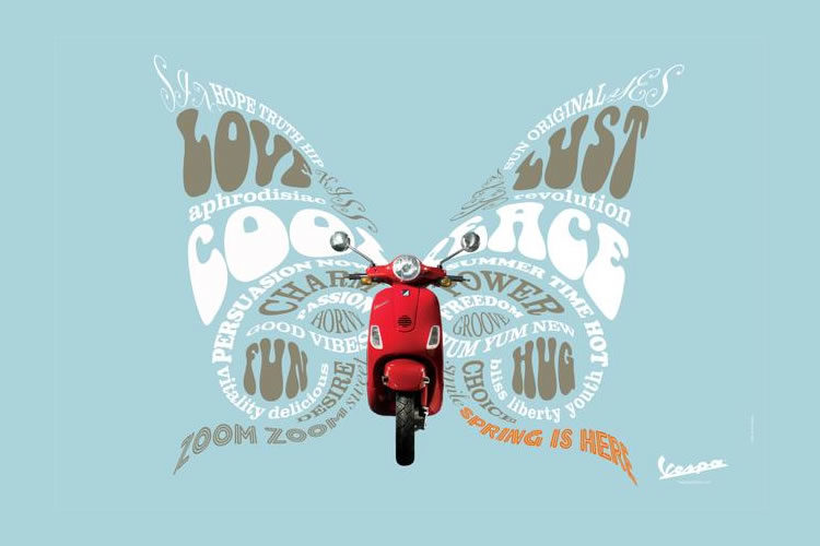 Advertising the Cool Vespa, a Timeless Design Icon