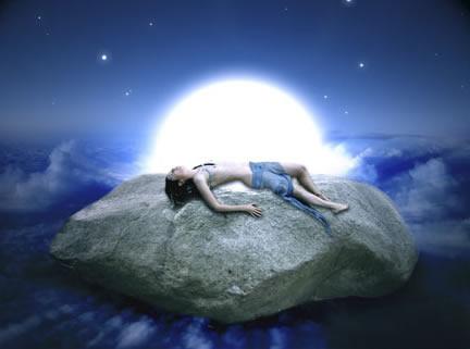 Fantasy Art Tutorial Moon Stone Magic Photoshop