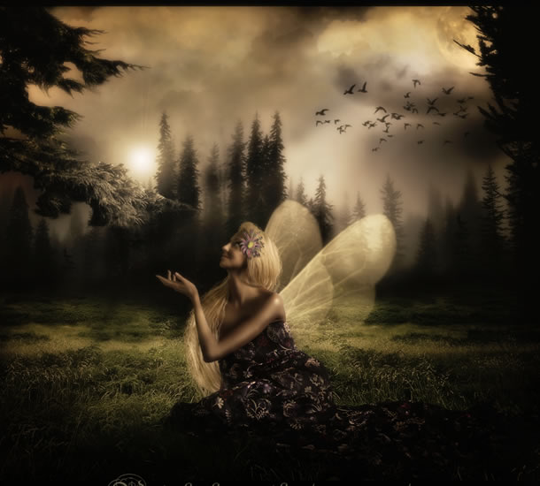 Fantasy Photo Manipulation Photoshop Tutorials