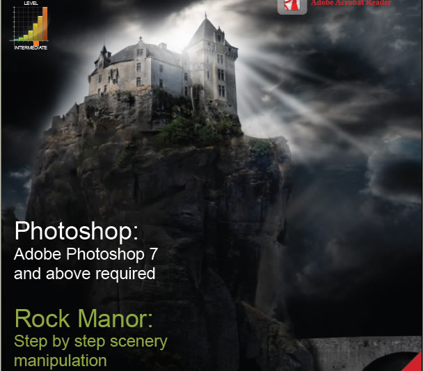Dark Scenery Photoshop Tutorials