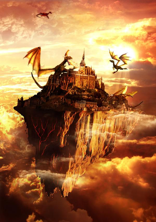 50 Photoshop Tutorials For Creating Fantasy Amp Horror Art
