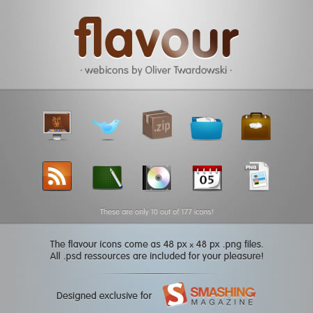 50 Useful Free PSD Icon Sets