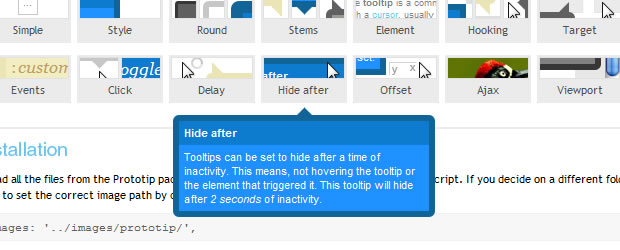 tooltip ease jquery