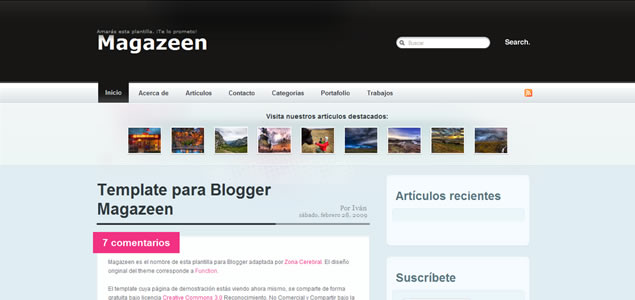 Blogger Themes and Templates