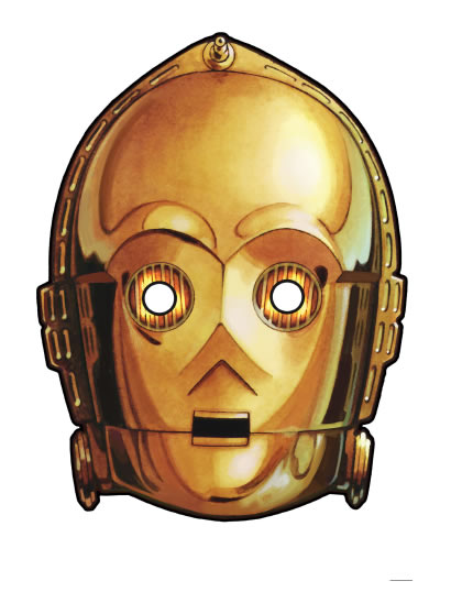 image regarding Star Wars Printable Masks named 25 Ultimate Moment Regular and Downloadable Halloween Masks