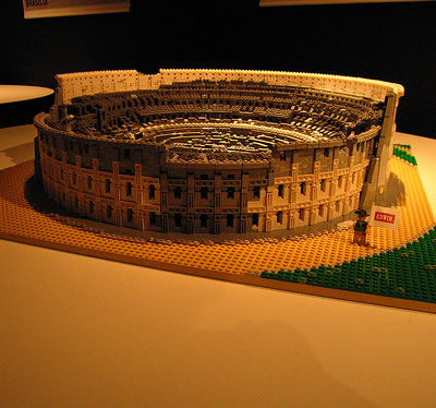 The Colosseum Lego Buildings and Monuments