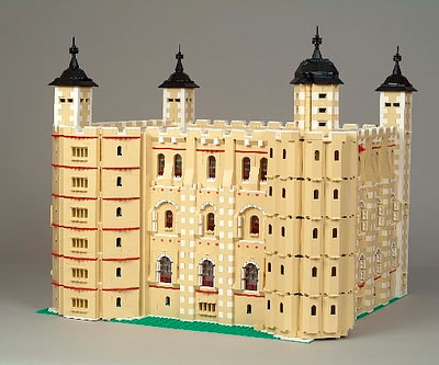 The Tower of London Lego Buildings and Monuments