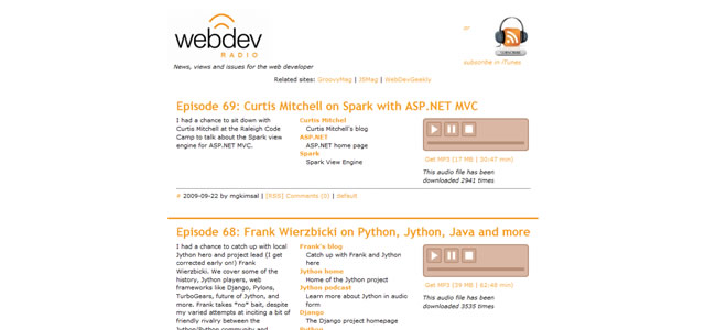 Web Design Podcasts