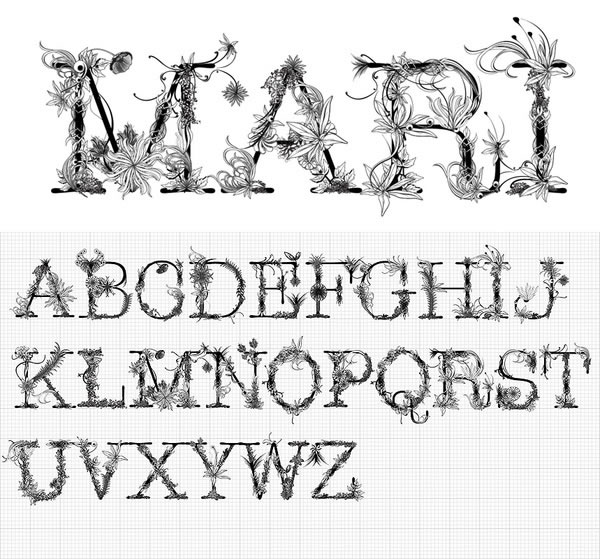 Typographical Illustration