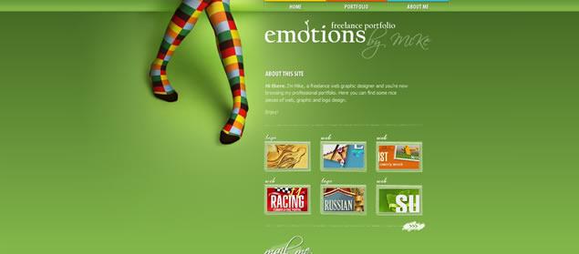 Vibrant Colors in Web Design