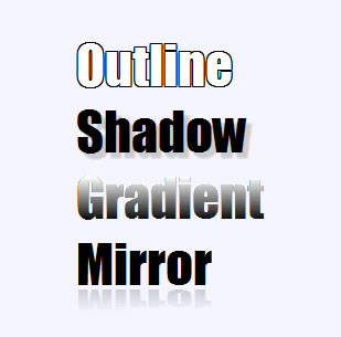 jQuery Text Effects