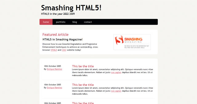 HTML5 Resources and Tutorials