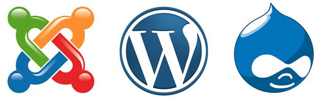 wordpress or joomla