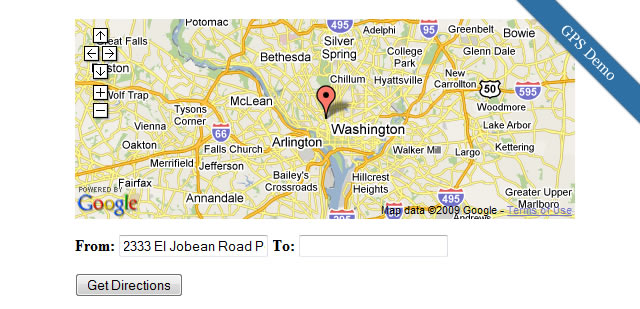 jQuery Google Map Plugin