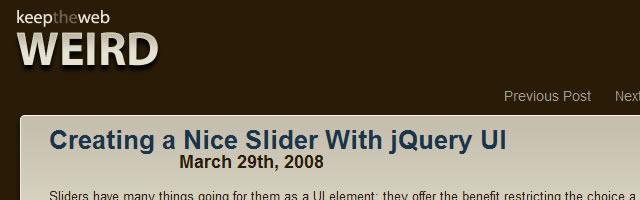 jQuery UI Tutorials