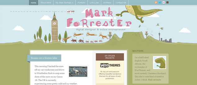 Mark Forrester - Awesome Blog Designs