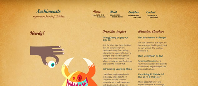 TJ Dhillon - Awesome Blog Designs