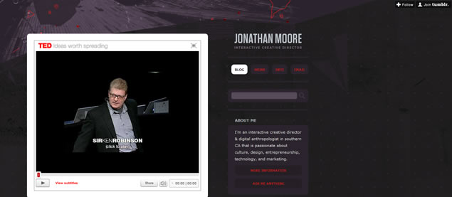 Jonathan Moore - Awesome Blog Designs