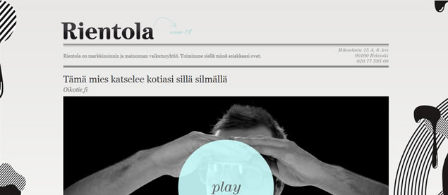 Rientola - Awesome Blog Designs