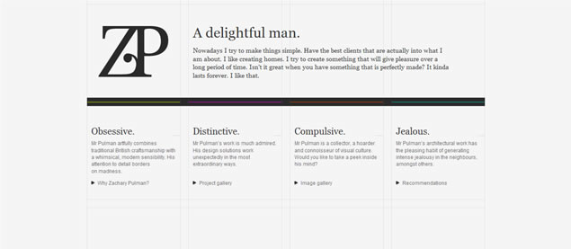 Zachary Pulman - Awesome Blog Designs
