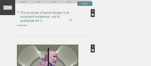 EMQuinn - Awesome Blog Designs