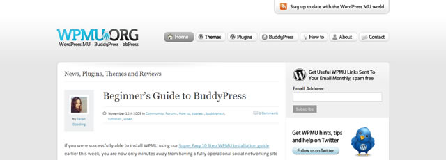 Beginners Guide to Installing BuddyPress