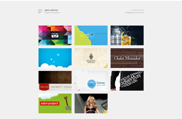 Pete Usborne - Awesome Blog Designs