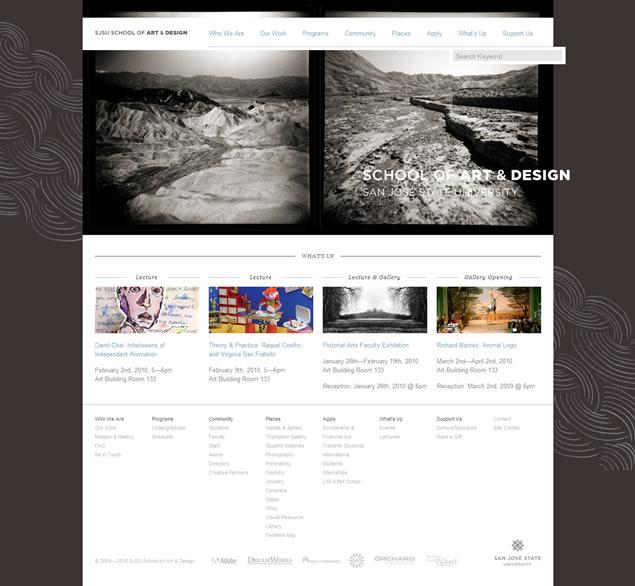 SJSU School - Awesome Blog Designs