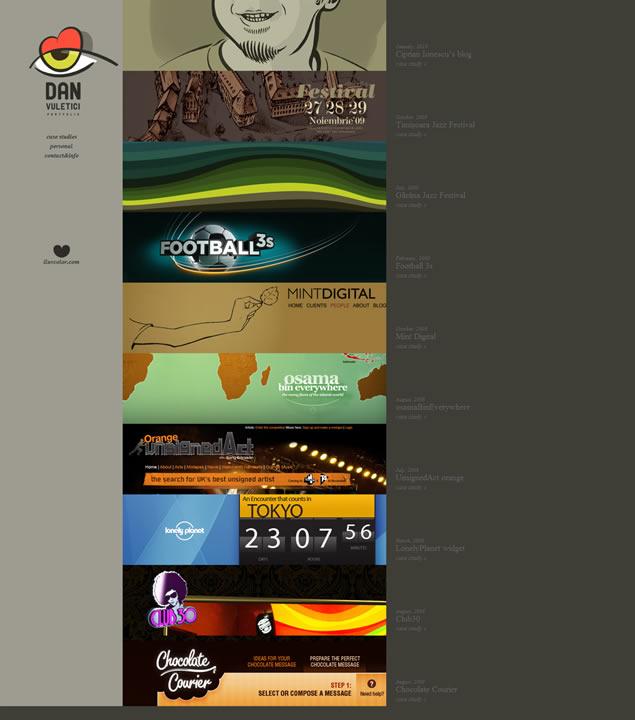 Dan Vuletici - Awesome Blog Designs