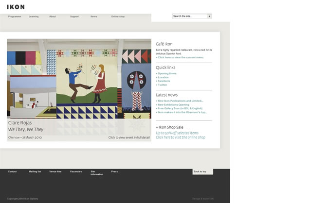 Ikon Gallery - Awesome Blog Designs