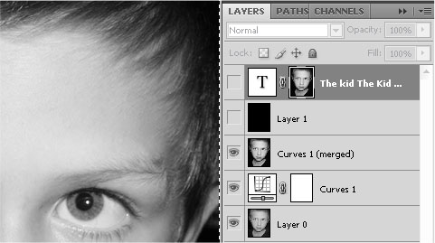 Photoshop Tutorial Face with Type