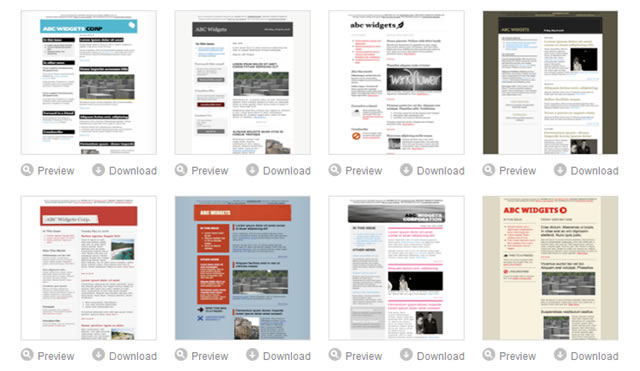 email marketing campaign templates free