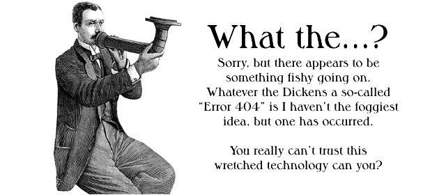 What the Dickens...