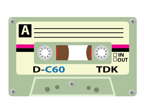 Create an old TDK Cassette