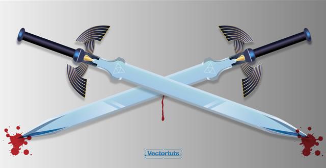 How to Make Super-Sharp, Vector Swords