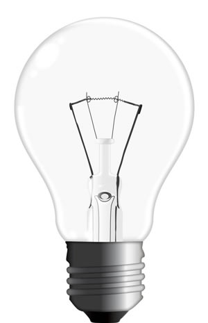 Draw A Realistic Vector Light Bulb From Scratch